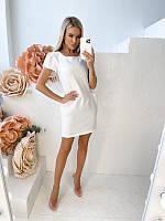 Женское однотонное платье, фото 1