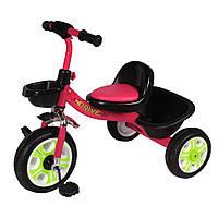 Детский велосипед трехколесный TILLY Т-318, розовый