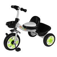 Детский велосипед трехколесный TILLY Т-318, серый