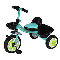 Детский велосипед трехколесный TILLY Т-318, голубой