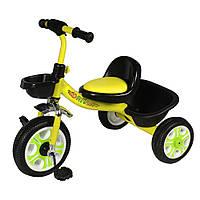Детский велосипед трехколесный TILLY Т-318, желтый