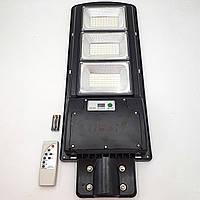Фонарь уличный светильник аккумуляторный 30000mAh с пультом на солнечной батарее LED Solar Street Light 375W