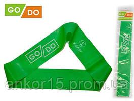 Резинка для фитнеса GoDo 1 -ка (X-EASY) - сопротивление 4-5 кг / резиновая петля, латексная лента