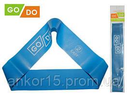 Гумка для фітнесу GoDo 2 -ка (EASY) - опір 5-8 кг / гумова петля, латексна стрічка