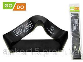Резинка для фитнеса GoDo 5 -ка (X-HEAVY) - сопротивление 22 кг / резиновая петля, латексная лента