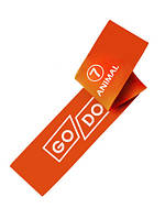 Гумка для фітнесу GoDo 7 -ка (ANIMAL) - опір 28-40 кг / гумова петля, латексна стрічка