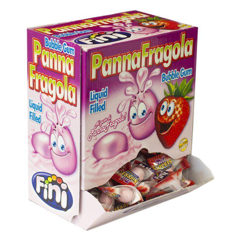 Жвачки Fini Panna Fragola Блок