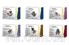 Капли на холку от блох, клещей и глистов для собак Стронгхолд (Stronghold) весом 2.5-5 кг