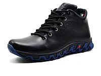 Ботинки мужские зимние на меху Gekon Dynamique 20BTM черные
