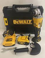 Болгарка аккумуляторная Dewalt DCG413 24V/4А brushless Угловая шлифмашина деволт безщеточная