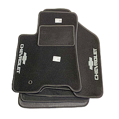 Килимки в салон ворсові AVTM для  Chevrolet Captiva LT2 АКП 7 мест /Шевроле Каптіва