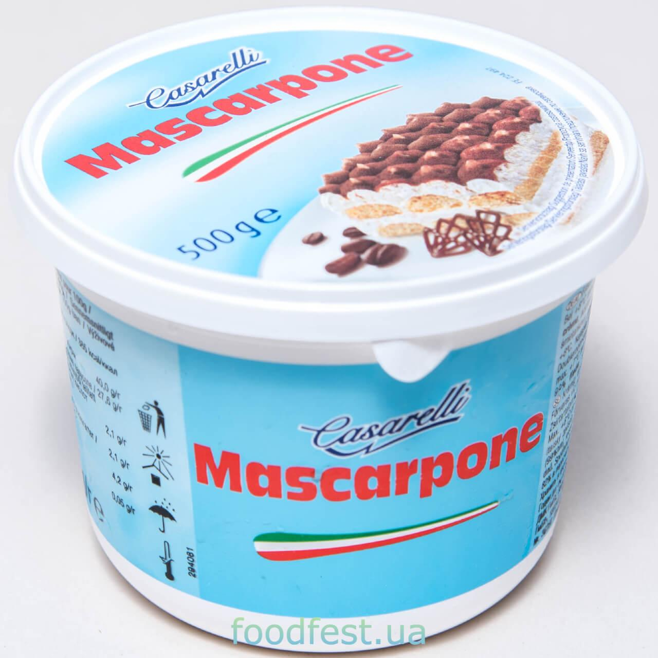 Сыр Маскарпоне TM Casarelli 500г