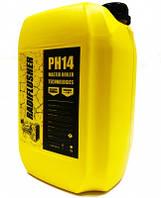 Лужний засіб для промивки радіатора, печі, системи охолодження авто RADIFLUSHER pH14, 10 л