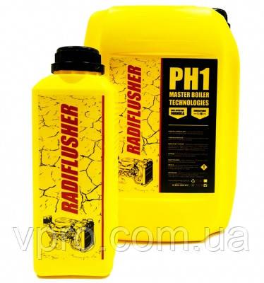 RADIFLUSHER pH1, 1 л рідина для промивки систем охолодження, печей, радіаторів