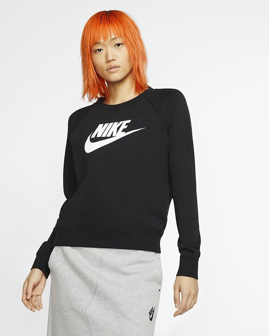 Толстовка жіноча Nike Sportswear Essential BV4112-010 Чорний