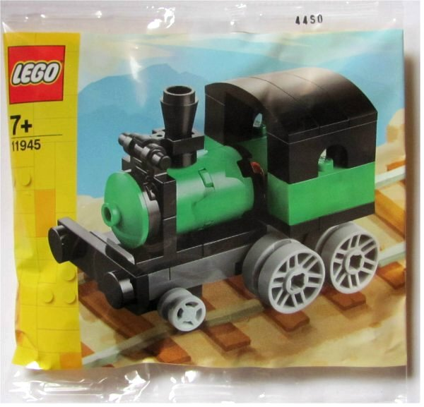Lego Creator Паровозик 11945