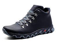 Зимние ботинки мужские кожаные Gekon Dynamique 20BVM черные, р. 40
