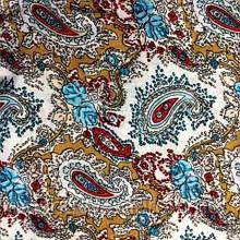 Ткань легкий коттон принт (турецкий огурец)