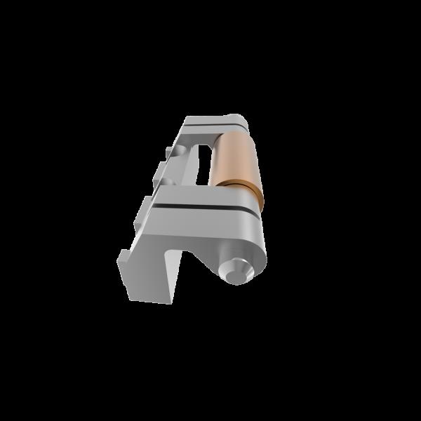 Петля прихована приварна RZ 415-1, для металевих шаф
