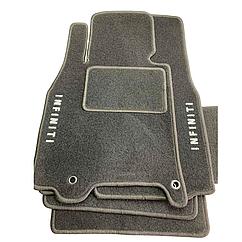 Килимки в салон ворсові для INFINITI/Інфініті G-37-S Coupe (АКПП)