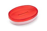 Мильниця Scarlet червоний напівпрозорий (АС 38612000)