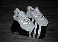 Жіночі кросівки Adidas Ozweego Beige/White адідас озвиго рефлектив, фото 1