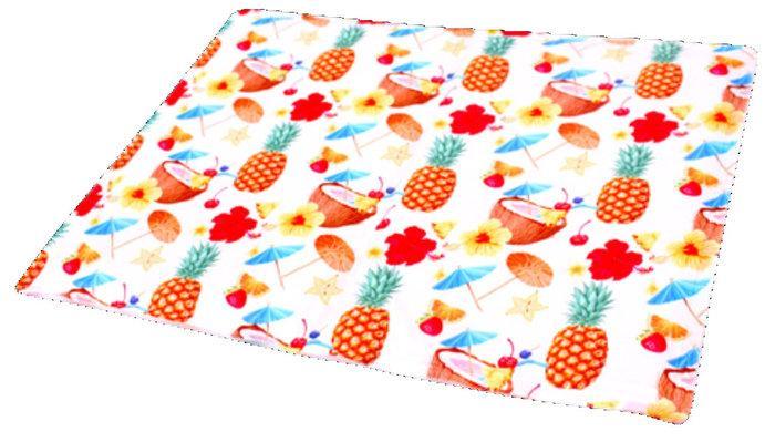 Охолоджуючий килимок для собак з принтом Коктейль 65х50 см, Croci