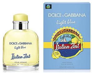 Мужская туалетная вода DG Light Blue Italian Zest 125 мл (Euro)