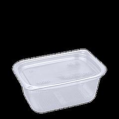 Соусница (прозрачная) пластиковая с крышкой 80мл 1уп/100шт