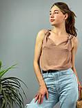 "Женская стильная блузка без рукавов ""Polina"" l Батал, фото 10"