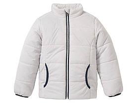 Куртка для мальчика серая без капюшона Lupilu р.116см