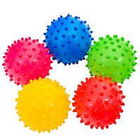 Мяч детский резиновый, 3 дюйма, 4 цвета, 20г
