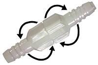 Соединитель-коннектор поворотный  для кислородных трубок Droh (Германия), фото 1