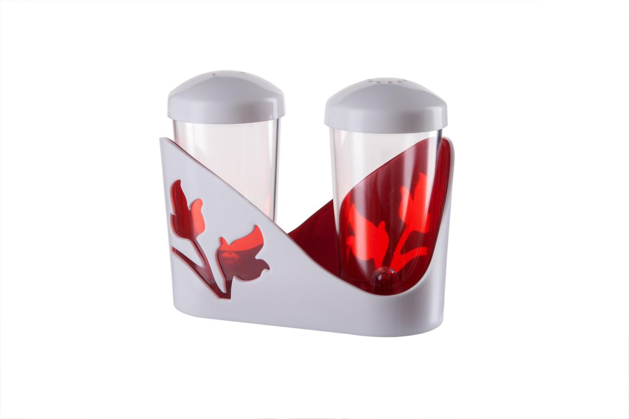 Набір для спецій Viola червоний напівпрозорий (ИК 20012000)