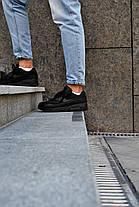 Кросівки чоловічі Nike Air Max 90 Triple Black Найк Аір Макс 90 Репліка, фото 3