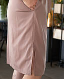 Літнє плаття жіноче Турецький льон Розмір 50 52 54 56 В наявності 4 кольори, фото 2