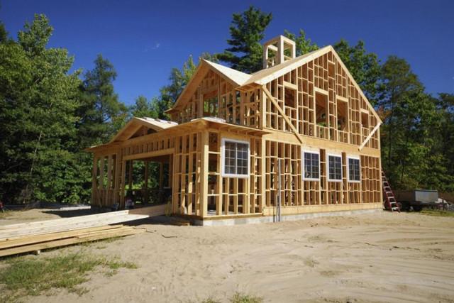 Захист дерев'яної конструкції даху від вогню