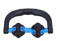 Роликовый массажер для расслабления мышц Spirill механический домашний массажер 2 ролика из пластика.