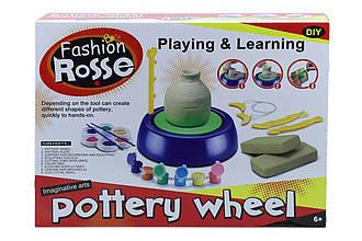 Детский гончарный набор с глиной Pottery Wheel