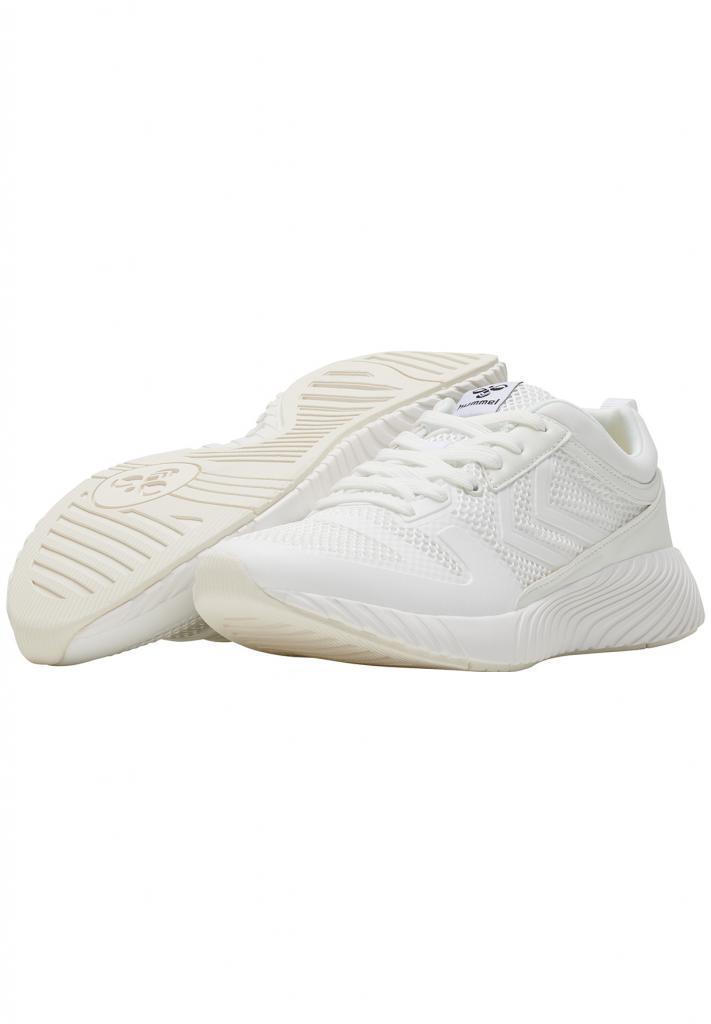 Женские белые летние кроссовки из текстиля