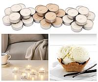Ароматические свечи-таблетки IKEA SINNLIG 30 шт х 4 часа горения чайные ароматические декоративные ваниль ИКЕА