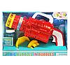 Автомат с мыльными пузырями 75-3 (48/2) 2 насадки, на батарейках, 2 цвета, в коробке, фото 2