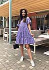 Платье летнее NOBILITAS 42 - 52 сиреневое штапель (арт. 21020), фото 2
