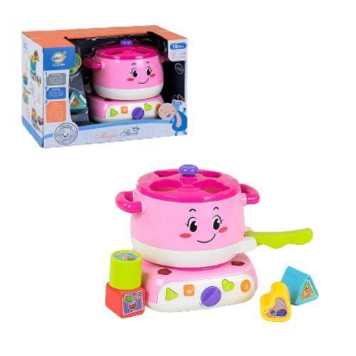 """Ігровий набір """"Кухня-сортер"""", рожевий QF366-038"""