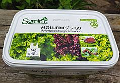 Средство от слизней Molufries 5GB 5кг на 2500м2 Sumin аналог Слимакса/Slimax