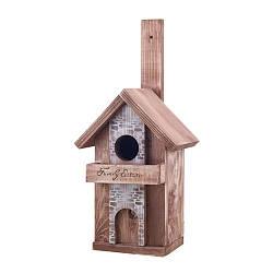 Скворечник для птиц деревянная Decoline Семейный дом D9018