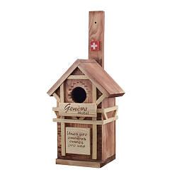 Скворечник для птиц деревянная Decoline Швейцария D9021