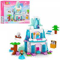 Детский конструктор Jun Da Long Toys Холодное сердце Замок Разноцветный 153 детали Яркий Качественный
