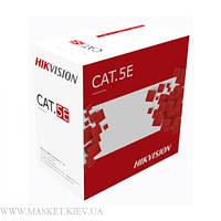 Кабель внешний витая пара UTP(PE) cat.5e 4х2x0.50 CU (305 м.), Hikvision