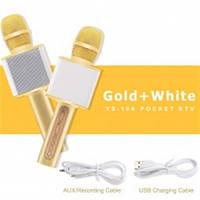 Микрофон YS-10A MAGIC KARAOKE GOLD